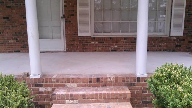 Polylevel a porch