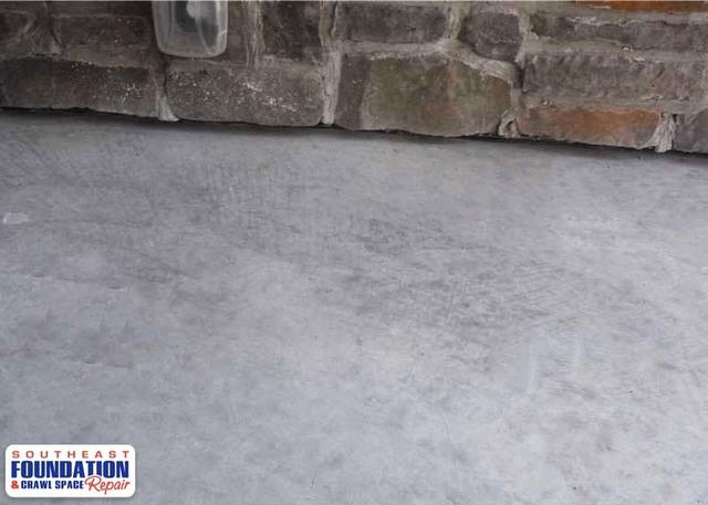 Fixing a Sunken Porch with PolyLevel in Goldsboro, NC