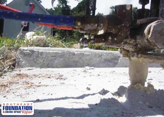 Sunken Concrete is Fixed in Wilmington, NC
