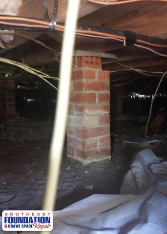 Cleaning up a Crawl Space With Clean Space in Goldsboro, NC