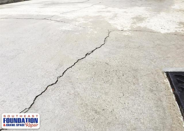 Fixing a Sinking and Cracking Driveway in Pinehurst, NC