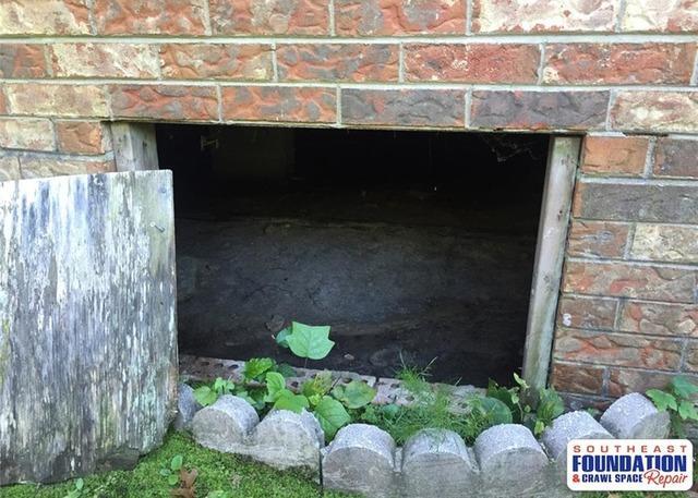 New Crawl Space Door in Wilmington, NC