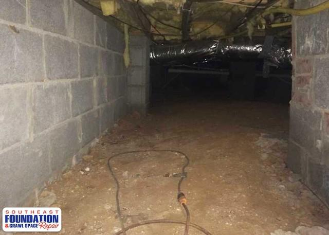 Nasty Dirty Crawl Space like this? We Can Help!