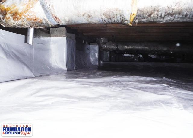 Cleaning up a Murky Crawl Space with CleanSpace