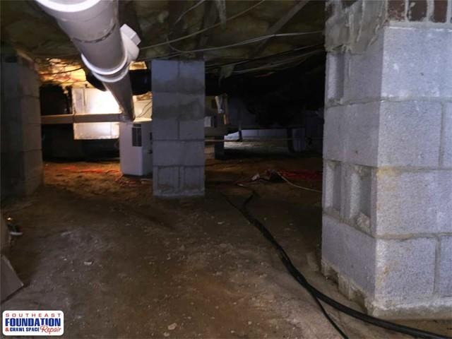 Renewing a Crawl Space with CleanSpace in Clayton, NC