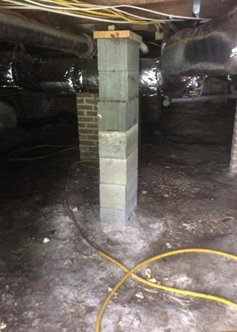 Transforming a Nasty Crawl Space with CleanSpace in Washington, NC