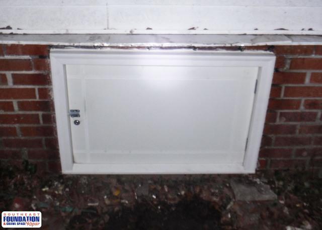 Custom Crawl Space Door in Saint Pauls, NC