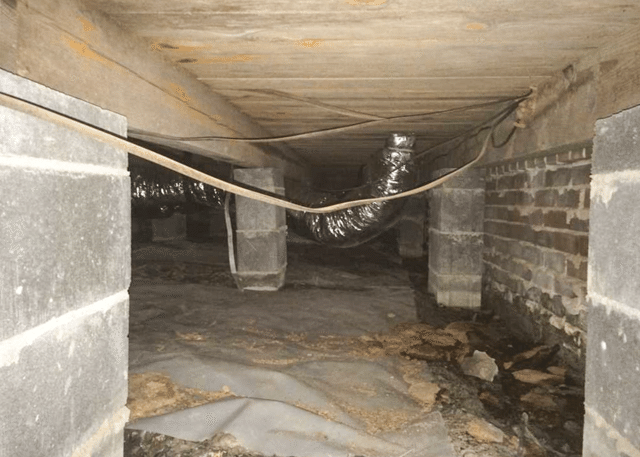Transforming a CleanSpace Crawl Space Encapsulation System in Godwin, NC