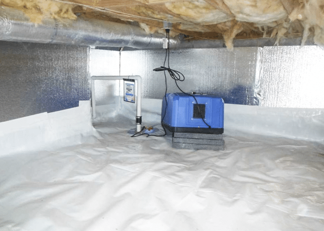 Transforming a Dirt Crawl Space with CleanSpace in Robbins, NC
