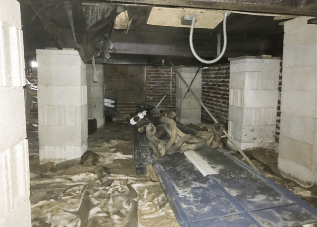 Fixing a Crawl Space in Parkton, NC