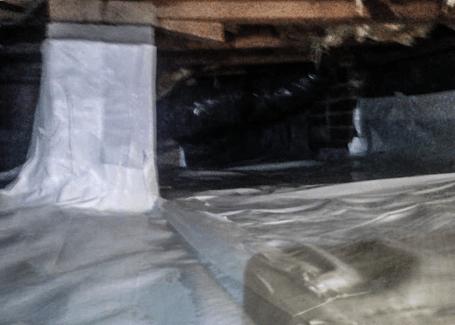 Transforming a Crawl Space in Whiteville, NC