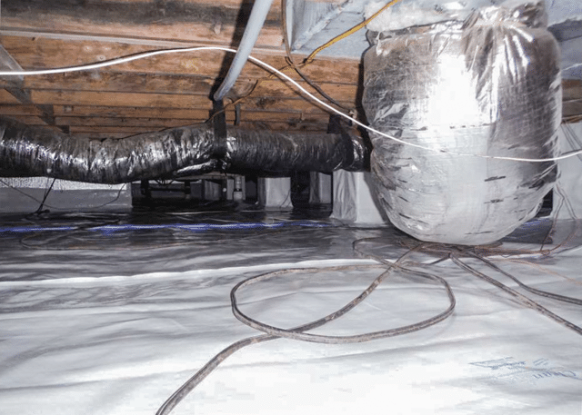 Fixing a Crawl Space in Lumberton, NC