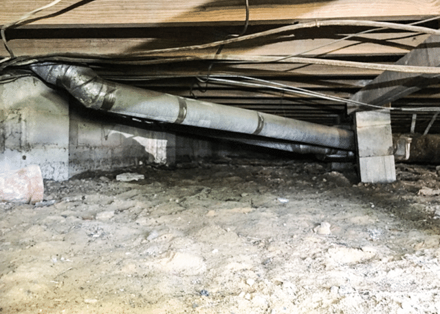 Transforming a Dirty Crawl Space in Lillington, NC