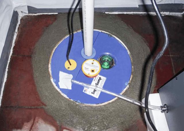 Installing DryTrak and SuperSump in LaGrange, NC