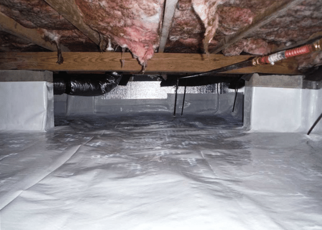 Fixing a Dirty Crawl Space in Havelock, NC