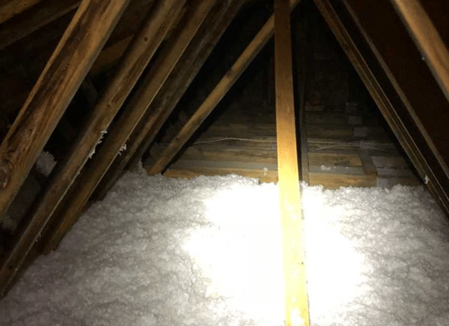 Installing Cellulose Attic Insulation in Pink Hill, NC
