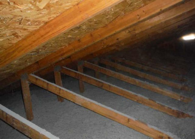 Insulating an Attic in Hope Mills, NC