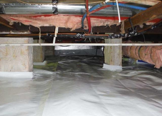 Encapsulating a Crawl Space in Sanford, NC