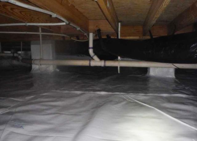 Encapsulating a Crawl Space in Farmville, NC