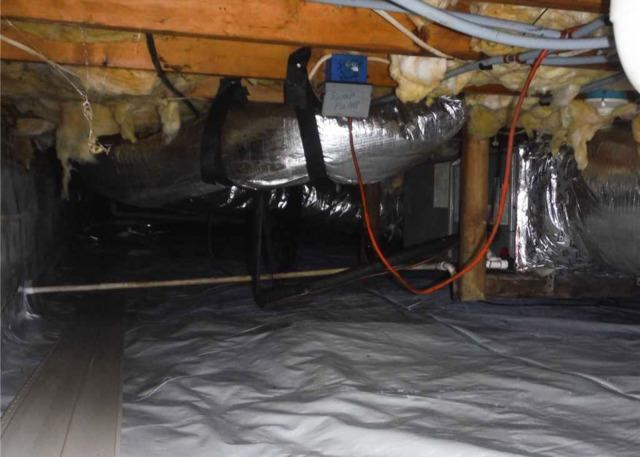 Encapsulating a Crawl Space in Kenly, NC