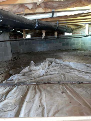 Crawlspace Repair in Clayton, NC