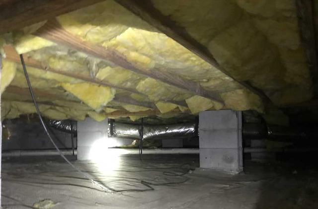 Protecting a Crawlspace in Raeford, NC
