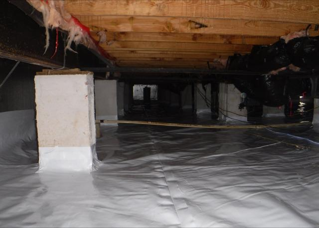 Encapsulating a Crawl Space in Zebulon, NC