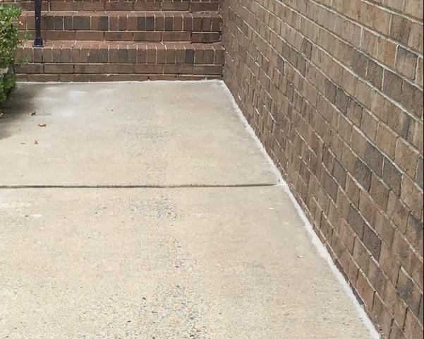 Fixing a Trip Hazard Walkway in Willow Springs, NC