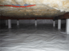 Crawl Space Encapsulation System Installed in Ether, NC