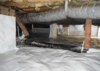 Installing a CleanSpace Crawl Space Encapsulation System in Rockingham, NC