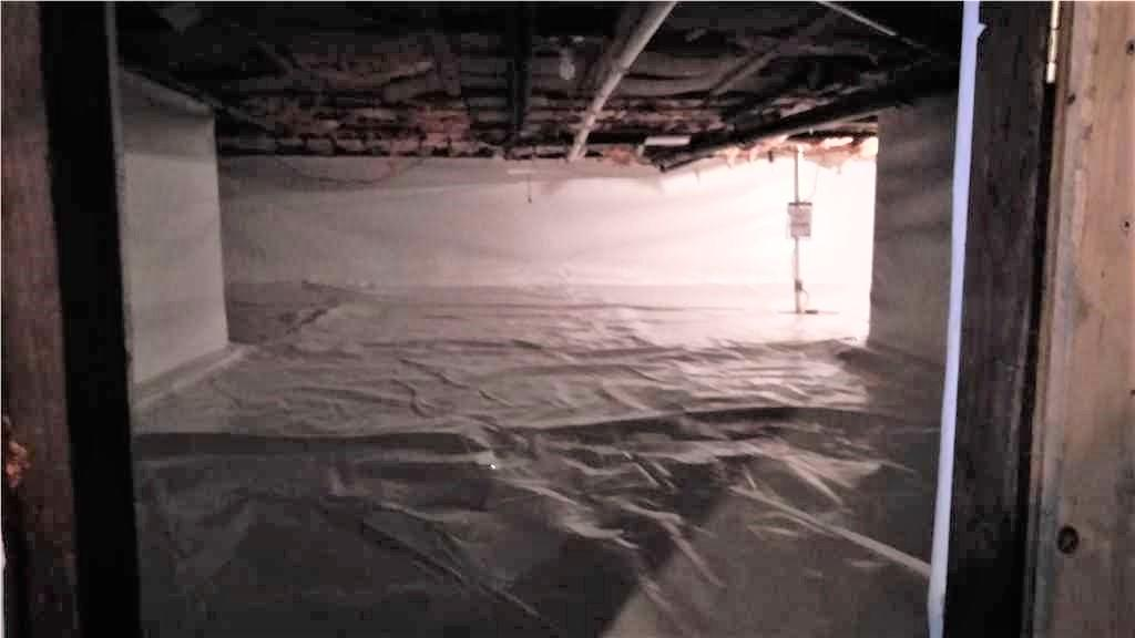 Crawl Space with CleanSpace in Panton, Vermont - After Photo