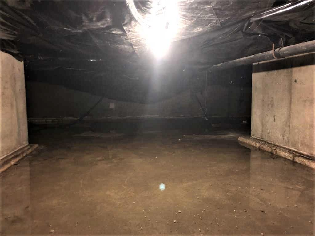 Crawl Space with CleanSpace in Panton, Vermont - Before Photo