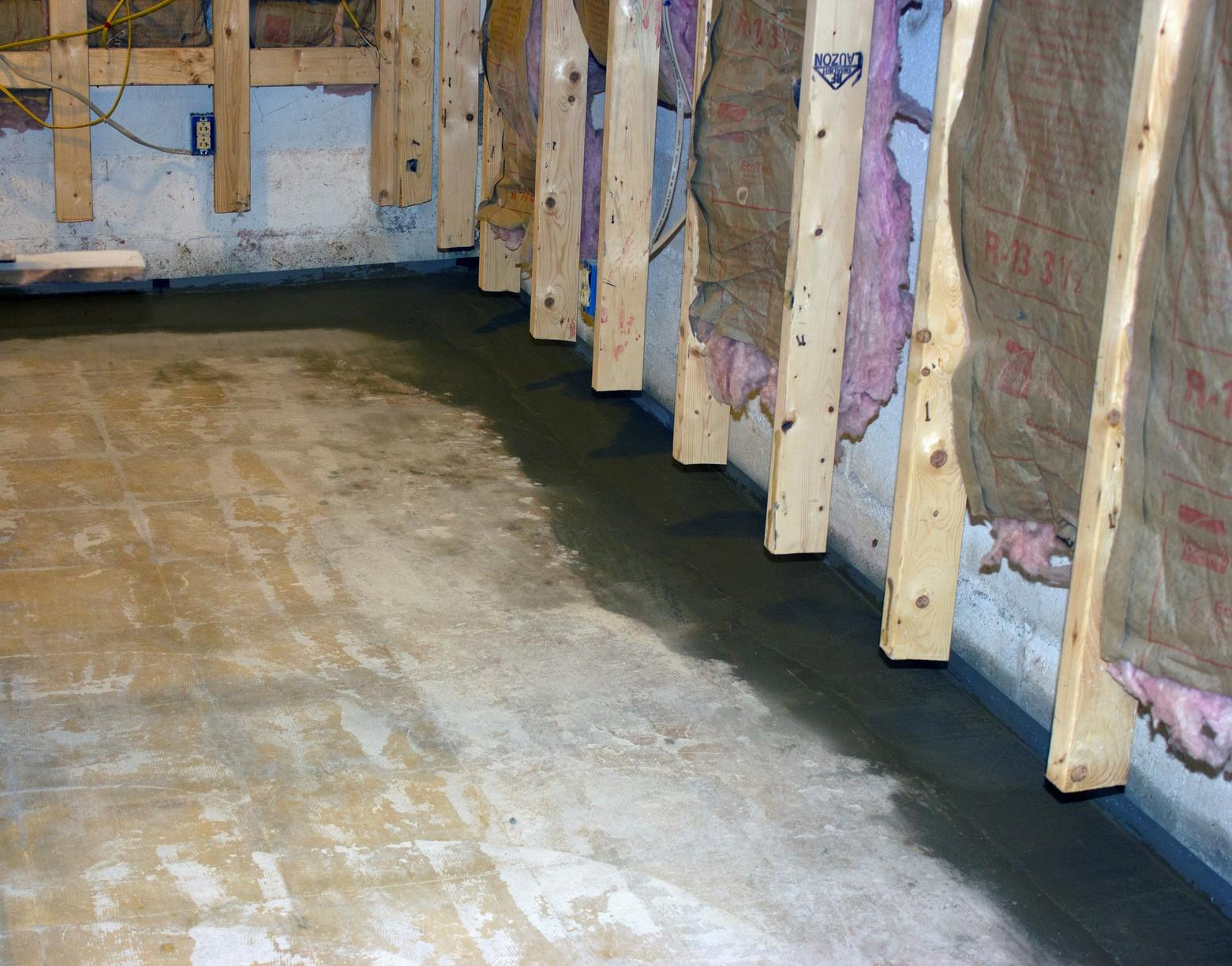 Wet Finished Basement in Manchester Center, VT - After Photo