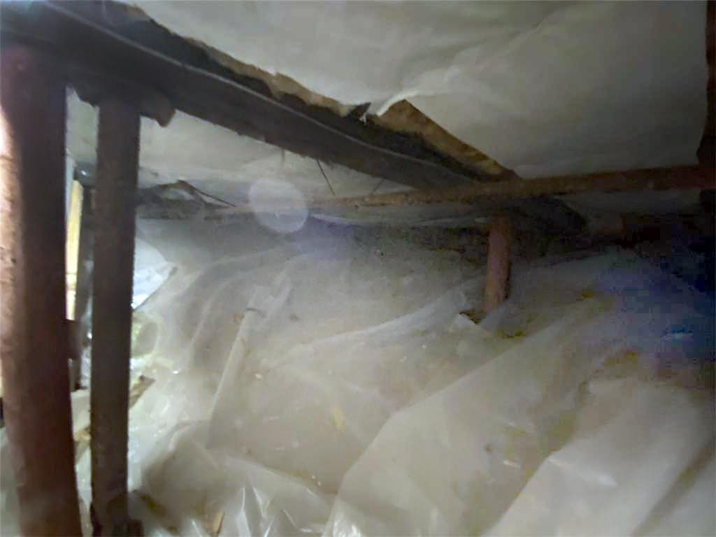 Crawl Space Repair in Burlington, Vermont - Before Photo