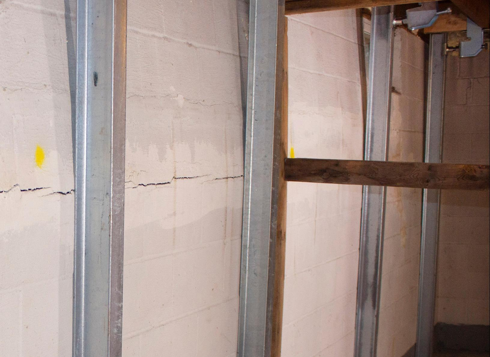 Fixing a Bowing & Cracked Wall in Fitzwilliam, New Hampshire, with Matt Clark's Northern Basement Systems. - After Photo