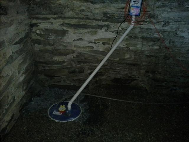 Sump Pump Installation in Fairfax, VT