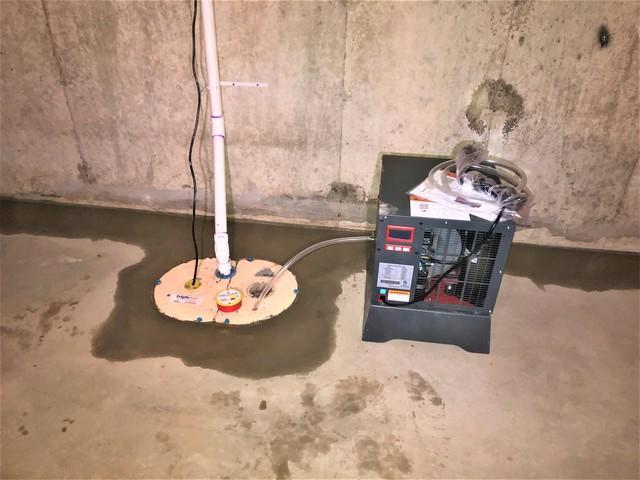 Super Sump Pump & Sedona Dehumidifier in Richmond, Vermont
