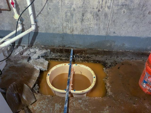 TripleSafe, WaterGuard, and SaniDry in Milton, VT - Before Photo