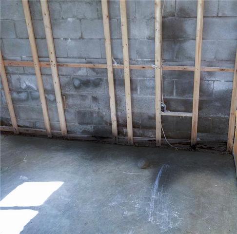 Matt Clark's Northern Basement Systems Turns a Wet Basement Dry.