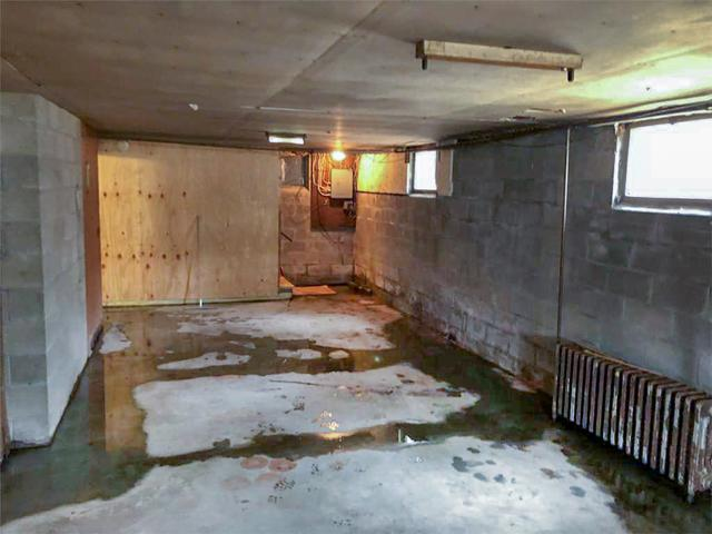 Waterproofing a large basement in Montpelier, Vermont