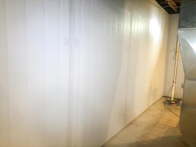 Basement Wall Insulation in Burlington, Vermont - After Photo