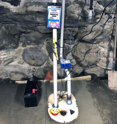 TripleSafe Sump Pump in Lincoln, Vermont