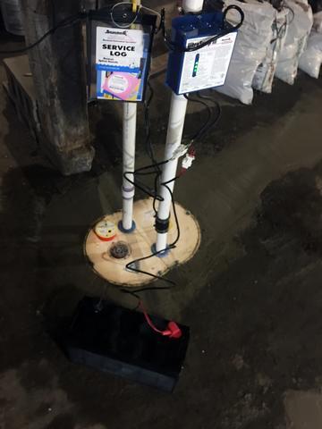 Matt Clark's Northern Basement Systems WaterProofing in Danville, Vermont