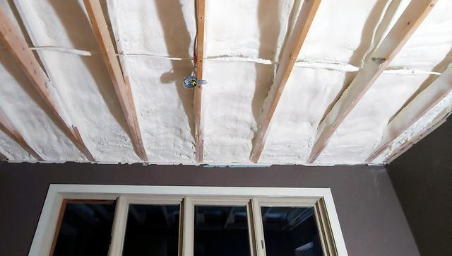 Matt Clark's Northern Basement Systems Insulates with Closed-Cell Polyurethane Spray Foam in Plainfield, Vermont