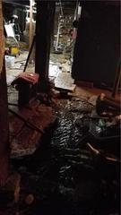 Water Taking Over Basement in Alstead, New Hampshire