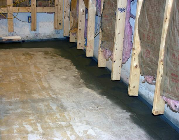 Wet Finished Basement in Manchester Center, VT