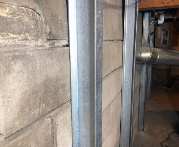 Stabilizing Cracked Foundation in Essex, Vermont