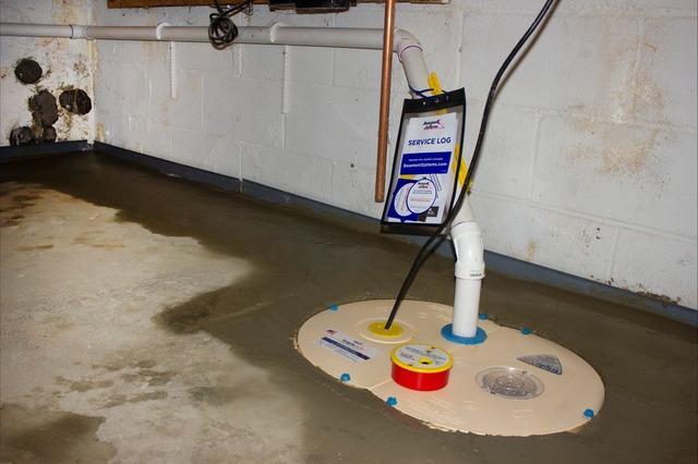 Matt Clark's Northern Basement Systems Waterproofs a basement in Johnson, Vermont.