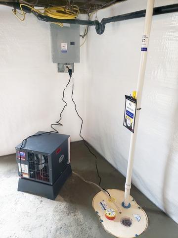 Basement Waterproofing in Vergennes, Vermont