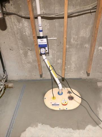 Basement Waterproofing in Milton, Vermont